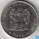 Afrique du Sud 1 rand 1988