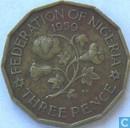 Nigeria 3 pence 1959
