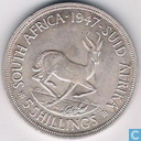 South Africa 5 shillings 1947