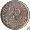 Sri Lanka 25 cents 1975