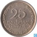 Sri Lanka 25 Cent 1975