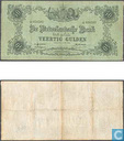 1860 40 Niederlande Gulden