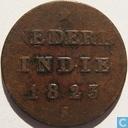 Nederlands-Indië ½ stuiver 1823 S