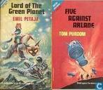 Books - Purdom, Tom - Lord of the Green Planet + Five against Arlane