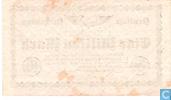Billets de banque - Berlin - Reichsbahn - Berlin 1 Miljoen Mark 1923