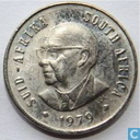 "Zuid-Afrika 5 cents 1979 ""The end of Nicolaas Johannes Diederichs' presidency"""