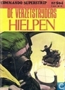 Comic Books - Commando Superstrip - De verzetstrijders hielpen