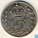 United Kingdom 3 pence 1905
