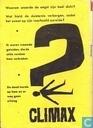 Comics - Climax - Als de doden herrijzen + Honderd mijl per uur + De moordenaar kan zich achter het raam bevinden