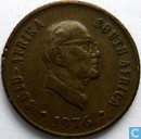 "Zuid-Afrika 1 cent 1976 ""The end of Jacobus Johannes Fouche's presidency"""