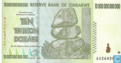 Zimbabwe 10 Trillion Dollars 2008