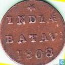 Nederlands-Indië ½ duit 1808