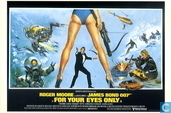 EO 00735 - Bond Classic Posters - For Your Eyes Only