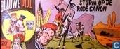 Comic Books - Blauwe Pijl - Storm op de rode cañon