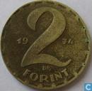 Hongrie 2 forint 1974