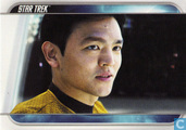Sulu, one of the best helmsmen in Starfleet.