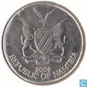 Namibia 10 cents 2002