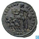 Romeinse Keizerrijk Heraclea AE2 Centenionalis van Keizer Constantius II 346-350
