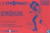 De Stripdagen 2000 - Uitnodiging