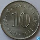 Maleisië 10 sen 1979