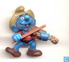 Violon Smurf