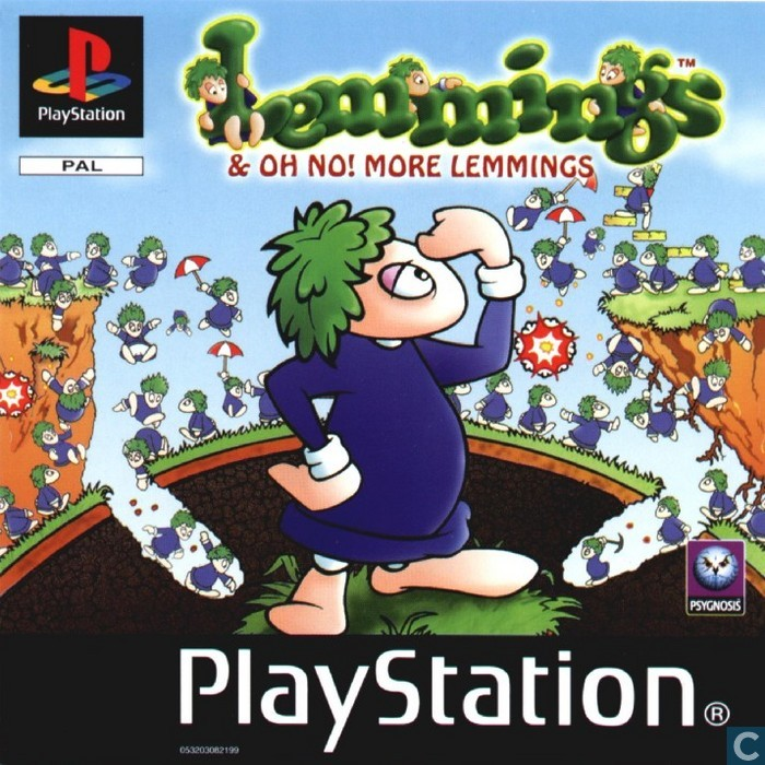 lemmings amp oh no more memmings sony playstation catawiki