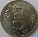 Hongrie 5 forint 1976