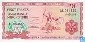 Burundi 20 Francs 1979