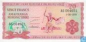 20 Franken Burundi