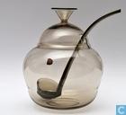 Glas / kristal - Kristalunie - Panacee Bowlpot 3 liter fumi