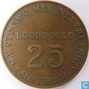 Boordgeld 25 cent 1947 SMN (rond)