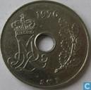 Denmark 25 øre 1976