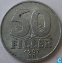Hungary 50 fillér 1967