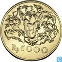 Indonesië 5000 rupiah 1974