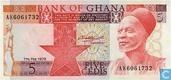 Ghana 5 Cedis 1980