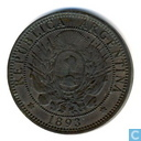 Argentinië 2 centavos 1893