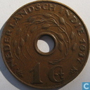Indes néerlandaises 1 cent 1937