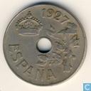 Spanje 25 Centimos 1927