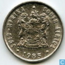 South Africa 5 cents 1985