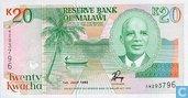 Malawi 20 Kwacha 1993