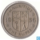 Mauritius 1 Rupee 1956
