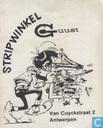 Prijskaartje Stripwinkel Guust