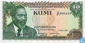 10 shillings du Kenya