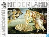 Postage Stamps - Netherlands [NLD] - The Birth of Venus - S. Botticelli