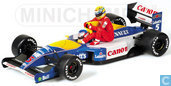 "Williams FW14 - Renault 'Senna riding on Mansell'"""