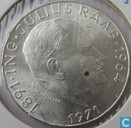 "Autriche 50 schilling 1971 ""80th Anniversary of Julius Raab"""