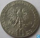 "Poland 10 Zlotych 1967 ""Mikolaj Kopernik"""