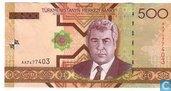 Turkmenistan Manat 500