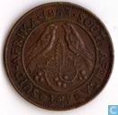 Afrique du Sud ¼ penny 1953