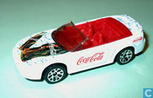 Model cars - Matchbox Mattel - Ford Mustang Convertible 'Coca-Cola'